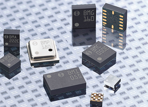 MEMS sensors developed by Bosch Sensortec